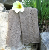 Beauty and the Beast Scalloped Scarf - Pattern