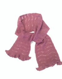 Cashmere Scalloped Scarf - Kit