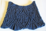 Trumpet Vine Cowl with Cashmere -- Kit