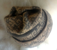 Mosaic Reverible Hat / Cowl