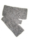 Celtic Vine Fingerless Gloves Pattern
