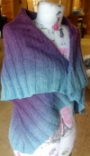 Falling Colors 2 in 1 Cape Pattern